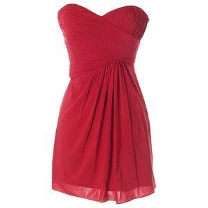 BCBGMaxAzria Strapless Sweetheart Cocktail Dress